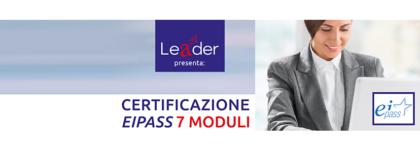 Certificazione Eipass 7 Moduli (Equivalente Patente Europea)