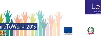 Welfare to Work Puglia 2016 – Interventi formativi per disoccupati e percettori di strumenti di sostegno al reddito