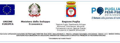 Bando Innolabs Regione Puglia – Progetto SAFETY